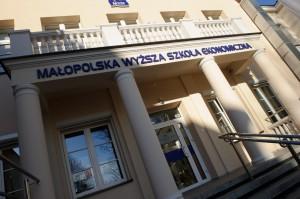Budynek Małopolskiej Wyższej Szkoły Ekonomicznej