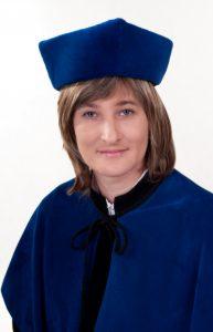 Dziekan Wydziału Nauk Społecznych dr Renata Smoleń