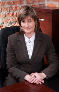 Dziekan dr Renata Smoleń